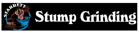 Starrett Stump Grinding Logo